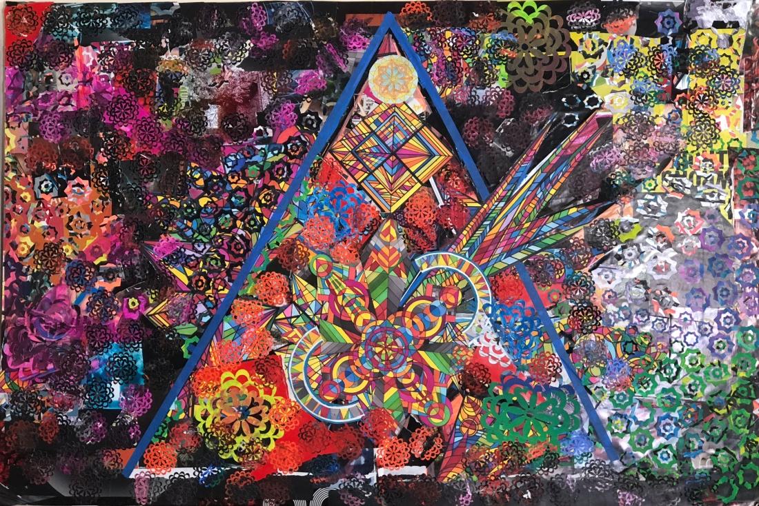"""""""Triangulo"""" Collage - work in progress"""