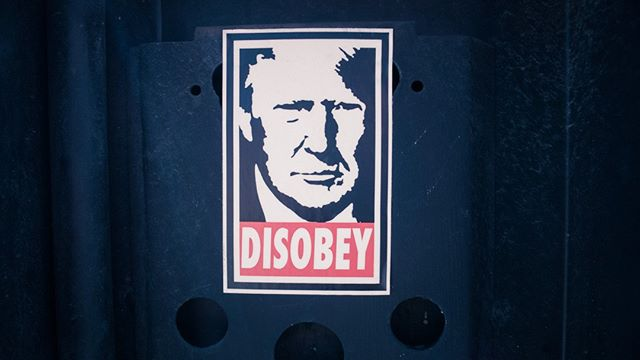DISOBEY • • •